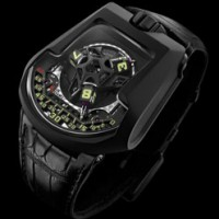 Urwerk 203. Miniature air compressors included.