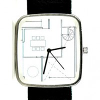 May 28th Watch with architectural motif.