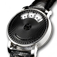"Andersen Geneve ""Montre A Tact"": Tactful watch."