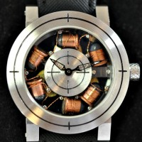 "Artya ""Son of a Gun"" has real bullets in the dial. 2"
