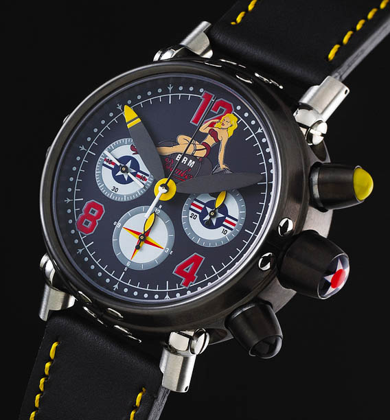 WWII fighter planes influence design of B.R.M watch series 1
