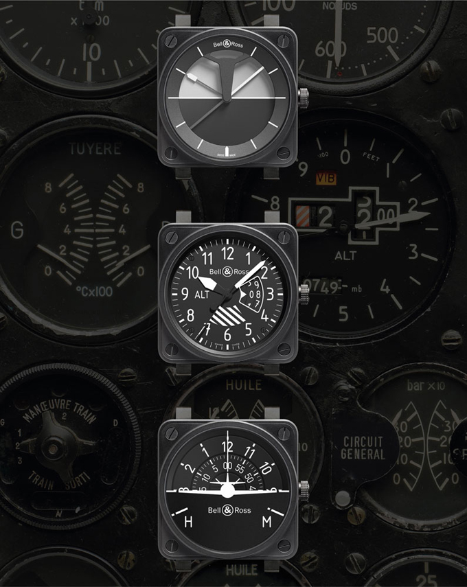 bell and ross instrument watches Instrument Panel Gauges in Car 3 Hole Angled Auto Gauge Panel