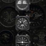 Aircraft dashboard gauges inspire Bell and Ross instrument watches