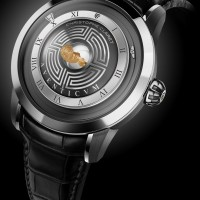 Christophe Claret Aveticum features hologram effect. 1