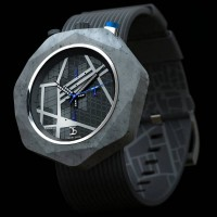 Concrete watch inspired by architecture 1
