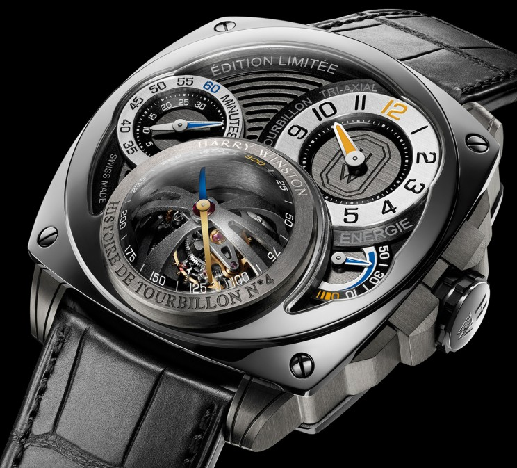 Harry Winston, Histoire de Tourbillon 4 side view