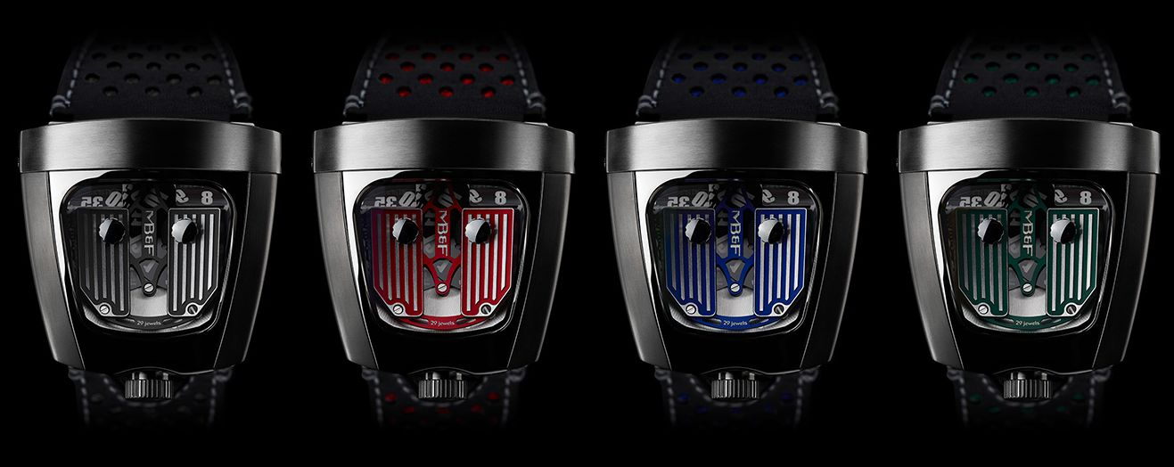MB&F HMX colour variants