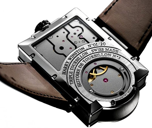 Harry Winston Histoire de Tourbillon No.3 back