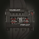 Hublot MP-07 like its powerful brother needs drill for winding.