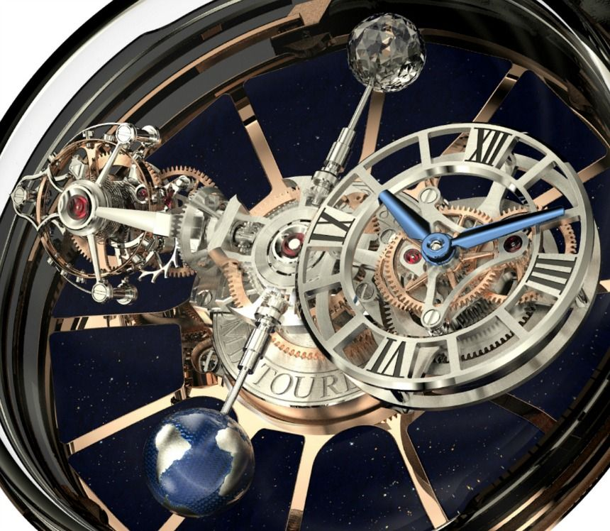 Jacob & Co. Astronomia Tourbillion closeup