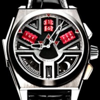 "Jean Dunand ""Shabaka"" Egyptian themed complication watch"