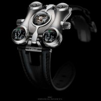 MB&F's latest 'machine' the HM6 is inspired by 80's Japanese cartoon. 1
