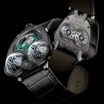 "MB&F ""Frog"" indicates time through bulging ""eyes"""