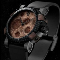 Romain Jerome Moon Dust DNA. Real moon dust, spacesuit fibers.