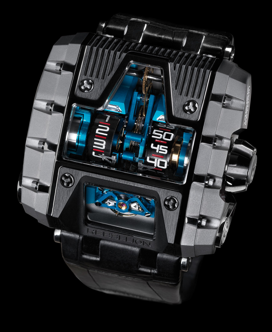 Rebellion T-1000 Gotham watch front view