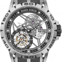New Roger Dubuis Excalibur Spider Skeleton has skeletonized case, dial and hands. 1