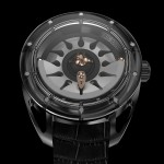 Frédéric Jouvenot Sin Watch uses 3d sun rays to display time