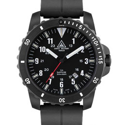 Swiss military tritium watch