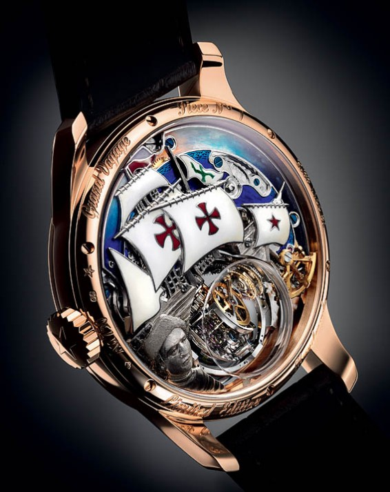 Zenith Christophe Colomb Hurriacne Grand Voyage back]#
