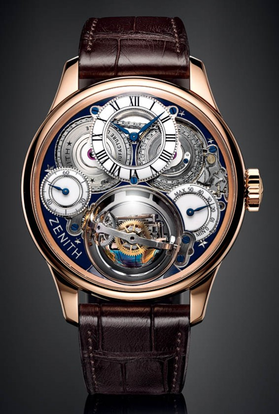 Zenith Christophe Colomb Hurriacne Grand Voyage front