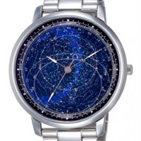 Citizen Astrodea Celestial. Dial shows complex star chart, comes with magnifying glass.