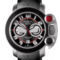 Aviator Axiom. Russian Chronograph with bold design.