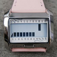 Matrix M6001 tells time with LCD bars.