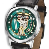 Accutron Spaceview: Return of the tuning fork.