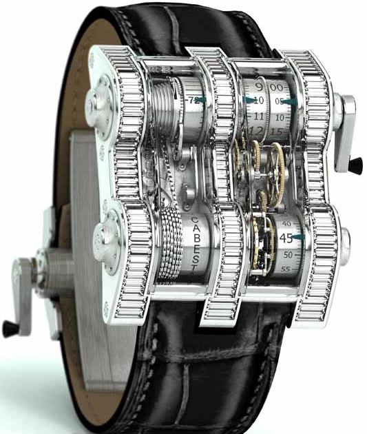 Cabestan Winch Tourbillon