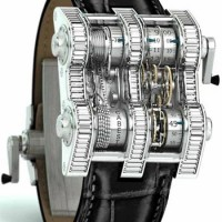 Cabestan Winch Tourbillon Vertical. Engineering virtuosity on a micro scale.