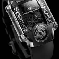Magically floating Metal balls tell the time with the Christophe Claret X TREM-1 4