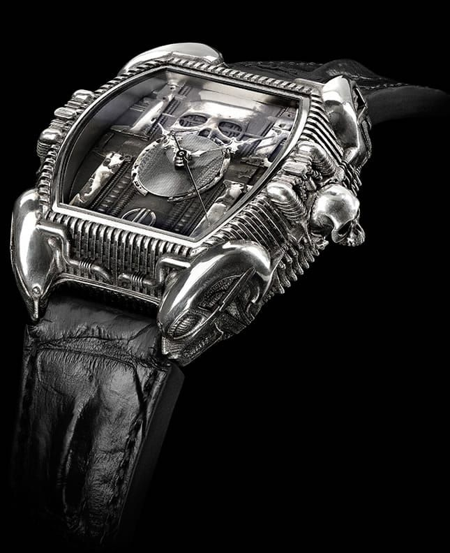 Daniel Strom Giger tribute watch
