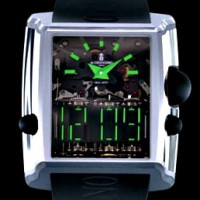 Di Grisogono Meccanica DG. Most complicated mechanical digital watch in the world.