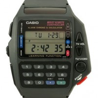 Geek watch: Databank Calculator watch