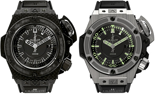 Hublot Oceanographic 4000 Fibreglass and Titanium