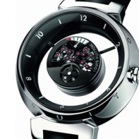 Louis Vuitton Tambour Mysterieuse: Transparent wonder.