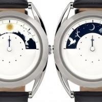 Mr Jones Sun and Moon watch uses images to indicate the time. 1