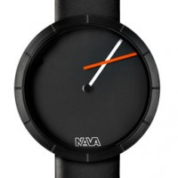 Nava Tempo Libero. Offbeat design features offset minute hand.
