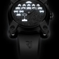 Romain Jerome Space Invaders Watch. Nostalgic tribute to the 70's videogame.