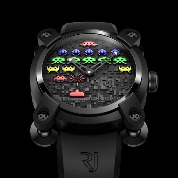 Romain Jerome Space Invaders Watch - Colour