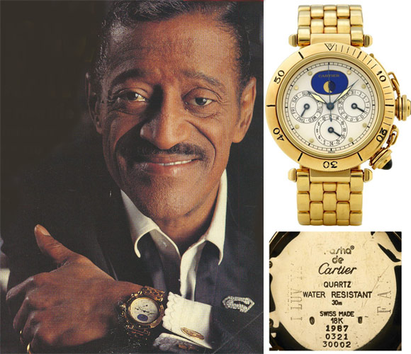 Sammy Davis Jnr Cartier Watch