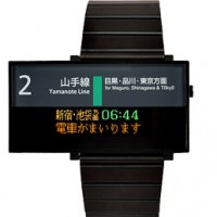 Seahope Japan Yamanote Line Watch