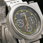 "Seiko's Futuristic Watch worn in movie ""Aliens"" re-issued."