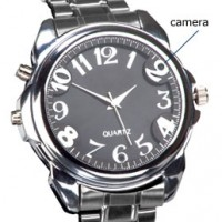Spy watch with camera