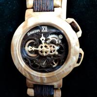 Wooden watch wonders from Valerii Danevych