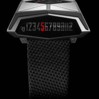 Futuristic watch from Romain Jerome evokes Bladerunner