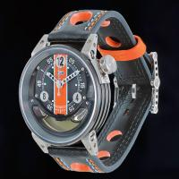 B.R.M watch filled with motor oil from Lola racing car