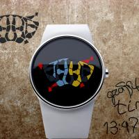 Graffiti art inspires watch from designer Andy Kurovets