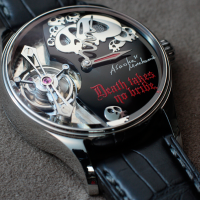 """Death takes no bribes"" says new Hajime Asaoka watch"