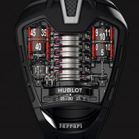 Hublot MP05 tribute to Ferrari is awesome mechanical marvel.
